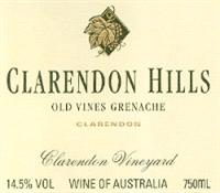 Clarendon Hills Grenache Old Vines Clarendon Vineyard